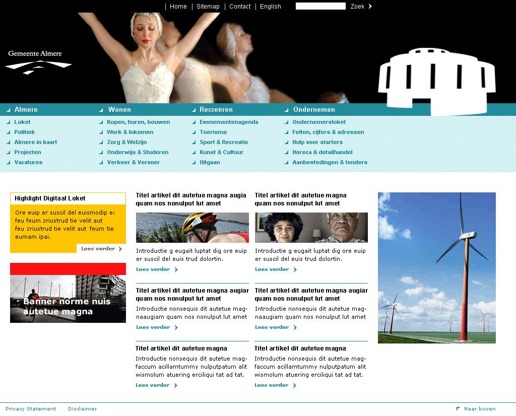klacht gemeente almere